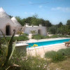 View of pool and trullo
