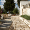 Patio in front of trullo
