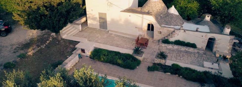 A Drone View of Trullo Adagio