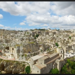 Drone View of Matera